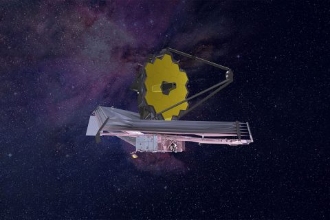 Rendering of the James Webb Space Telescope. (Northrop Grumman)