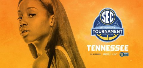 Tennessee Women's Basketball take on Alabama Thursday at 3:30pm CT in second round SEC Tournament action. (Tennessee Athletics Department)