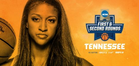Tennessee Lady Vols play Dayton Flyers Saturday, March 18th in NCAA Tournament first round action. (Tennessee Athletic Department)
