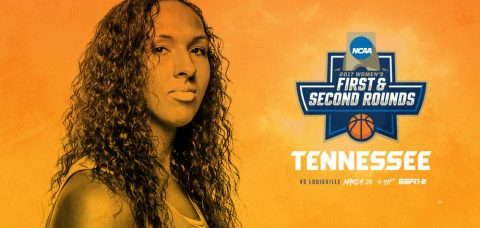 Tennessee Lady Vols take on #13/12 Louisville Cardinals Monday, March 20th in the second round of the NCAA Women's Basketball Tournament. (Tennessee Athletics Department)