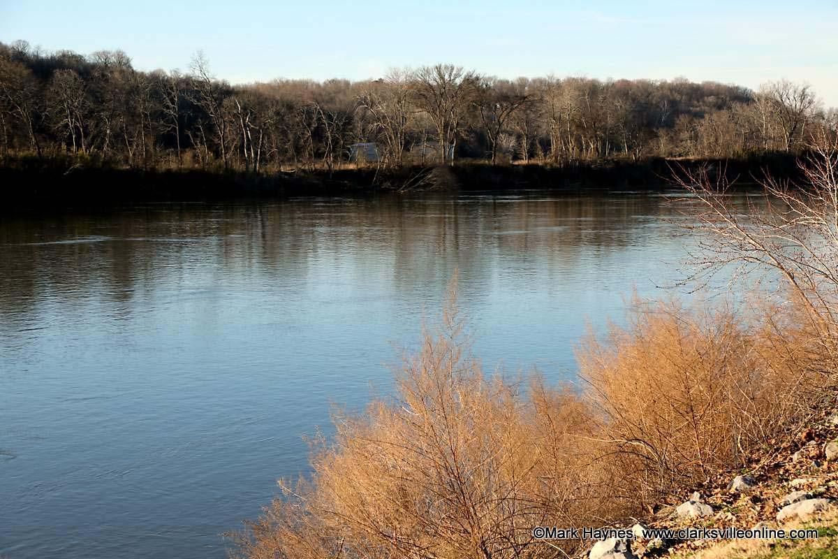 Rising Cumberland River causes boat ramp closues in Clarksville.
