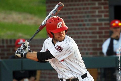 Austin Peay Baseball falls to Belmont 9-5 at Raymond C. Hand Park Friday night. (APSU Sports Information)