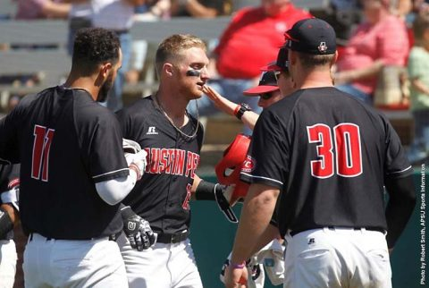 Austin Peay Baseball gets 6-2 win over Belmont at Raymond C. Hand Park, Saturday. (APSU Sports Information)