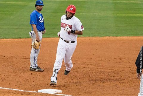 Austin Peay Baseball falls to Eastern Kentucky in extra innings Friday night, 7-6. (APSU Sports Information)