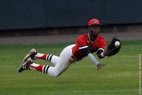 Austin Peay Baseball can't get on track in night cap loss to Morehead State at Raymond C. Hand Park, Friday night. (APSU Sports Information)