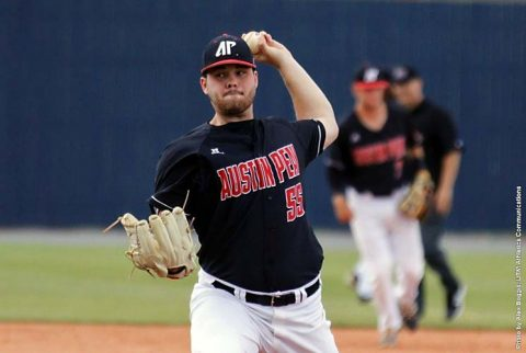Austin Peay Baseball cranks out 18 hits on way to 19-4 win over UT Martin Skyhawks Friday. (APSU Sports Information)