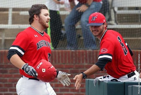 UT Martin Skyhawks score 6 runs in the bottom of the ninth to beat Austin Peay Baseball 10-8 Saturday. (APSU Sports Information)
