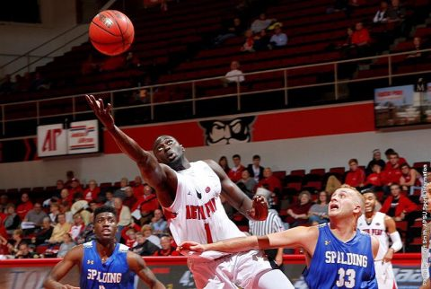 Austin Peay alumnus Assane Diop continues career with Gifu Seiryu Heroes of the Challenge Summer League. (APSU Sports Information)