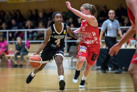 Austin Peay Basketball great Tiasha Gray signs deal in the Swedish Damligan for the 2018-19 season.(APSU Sports Information)