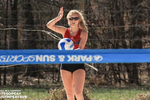 Austin Peay Beach Volleyball loses to Jacksonville State and UAB Saturday at GSU Diggin' Duals. (APSU Sports Information)