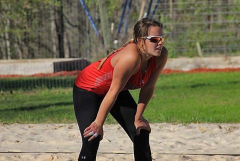 Austin Peay Beach Volleyball beats Morehead State, but fell to UAB in final day of Governors Beach Challenge. (APSU Sports Information)