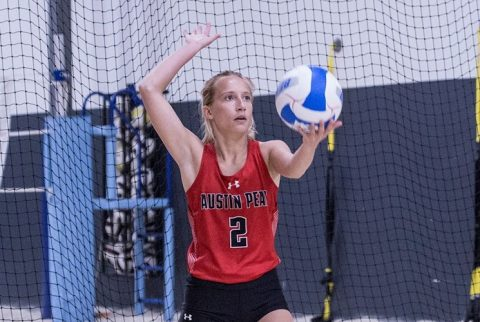 Austin Peay Beach Volleyball hands UT Martin 5-0 loss Wednesday. (APSU Sports Information)