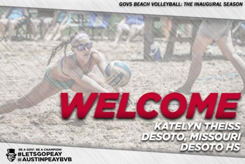 Austin Peay Beach Volleyball signs Katelyn Theiss as programs first signee. (APSU Sports Information)