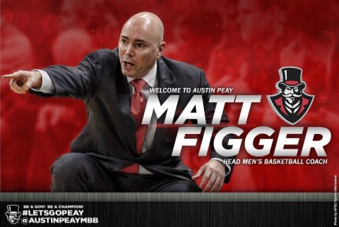 Austin Peay to introduce APSU Men's Basketball's next head coach Matt Figger on Thursday. (APSU Sports Information)