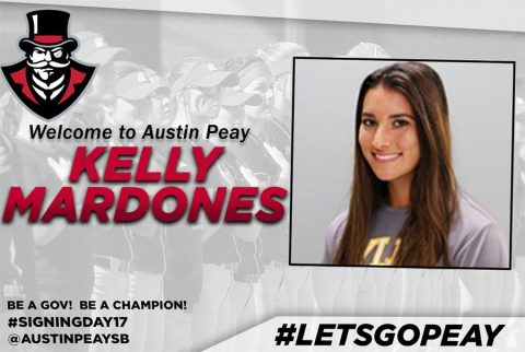 APSU Softball signs Pitcher Kelly Mardones