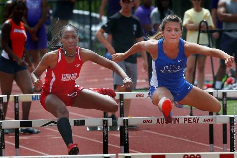 Austin Peay Women's Track and Field have great day at Georgia Tech Invitational, Saturday. (APSU Sports Information)