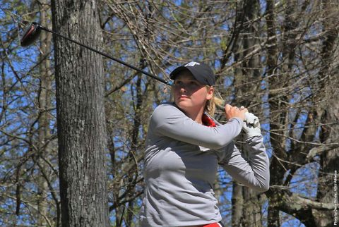 Solid shooting puts Austin Peay Women's Golf in fifth at Jan Weaver Invitational going into final round. (APSU Sports Information)