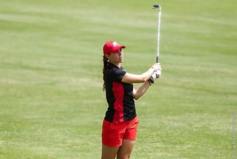 Austin Peay Women's Golf has programs best score at the 2017 OVC Women's Golf Championships at Hampton Cove Golf Course. (APSU Sports Information)