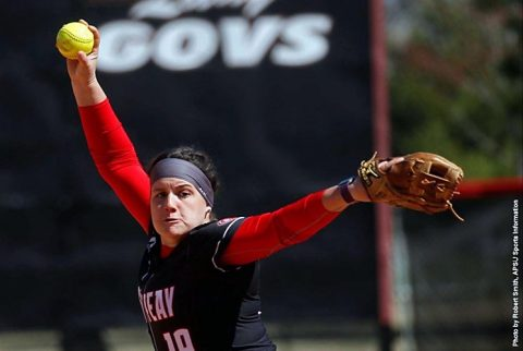 Austin Peay Softball splits doubleheader with Tennessee Tech, Saturday. (APSU Sports Information)