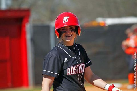 Austin Peay Softball splits doubleheader at Evansville Purple Aces, Wednesday. (APSU Sports Information)