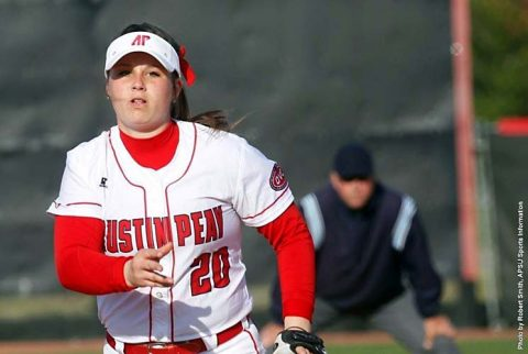 Austin Peay Softball loses doubleheader to Southeast Missouri Redhawks, Saturday. (APSU Sports Information)