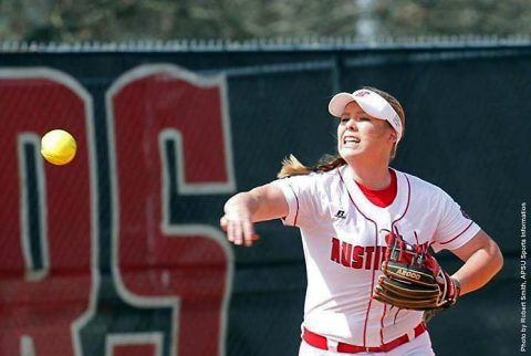 Austin Peay Softball drops doubleheader to UT Martin Skyhawks, Sunday. (APSU Sports Information)