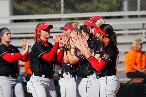 Austin Peay Softball plays doubleheader against Belmont at Cheryl Holt Field, Monday. (APSU Sports Information)