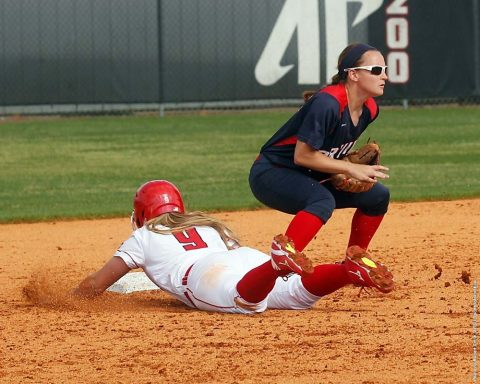 Austin Peay Softball plays doubleheader against Tennessee State Wednesday afternoon at Cheryl Holt Field. (APSU Sports Information)