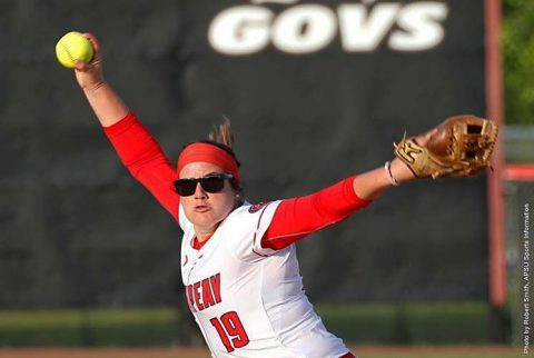 APSU Softball's offense slugish in doubleheader loss to SIU Edwardsville at Cougar Field, Friday. (APSU Sports Information)