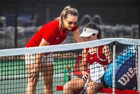 Austin Peay Women's Tennis falls at home 5-2 to UT Martin, Saturday. (APSU Sports Information)
