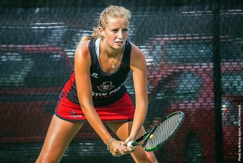 Austin Peay Women's Tennis gets road win over Eatern Illinois Saturday. (APSU Sports Information)