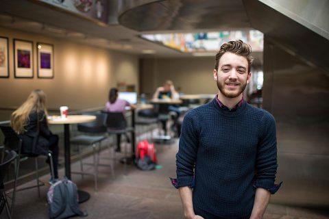 APSU physics student Jonathan Bunton. (Hunter Abrams, APSU)
