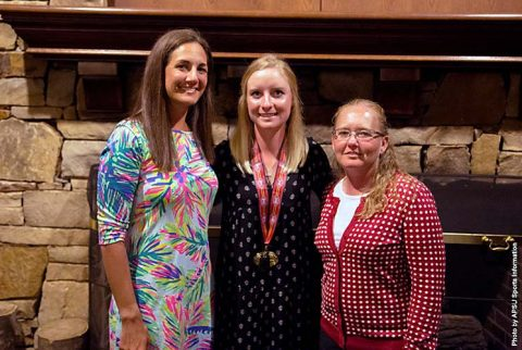 Austin Peay Women's Golf sophomore Taylor Goodley picked for All-OVC Team. (APSU Sports Information)