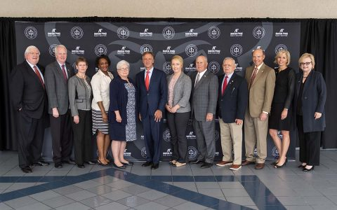 Members of Austin Peay State University's Board of Trustees met for their inaugural meeting on Thursday, March 30th, 2016. (Beth Lowary, APSU)