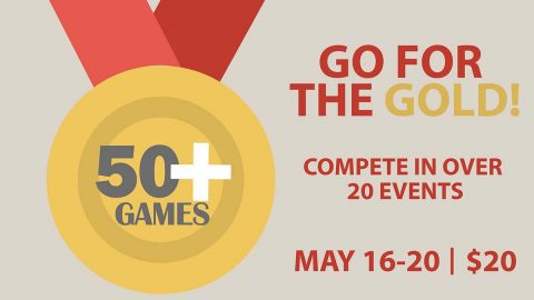 Clarksville Parks and Recreation's 50 Plus Games.