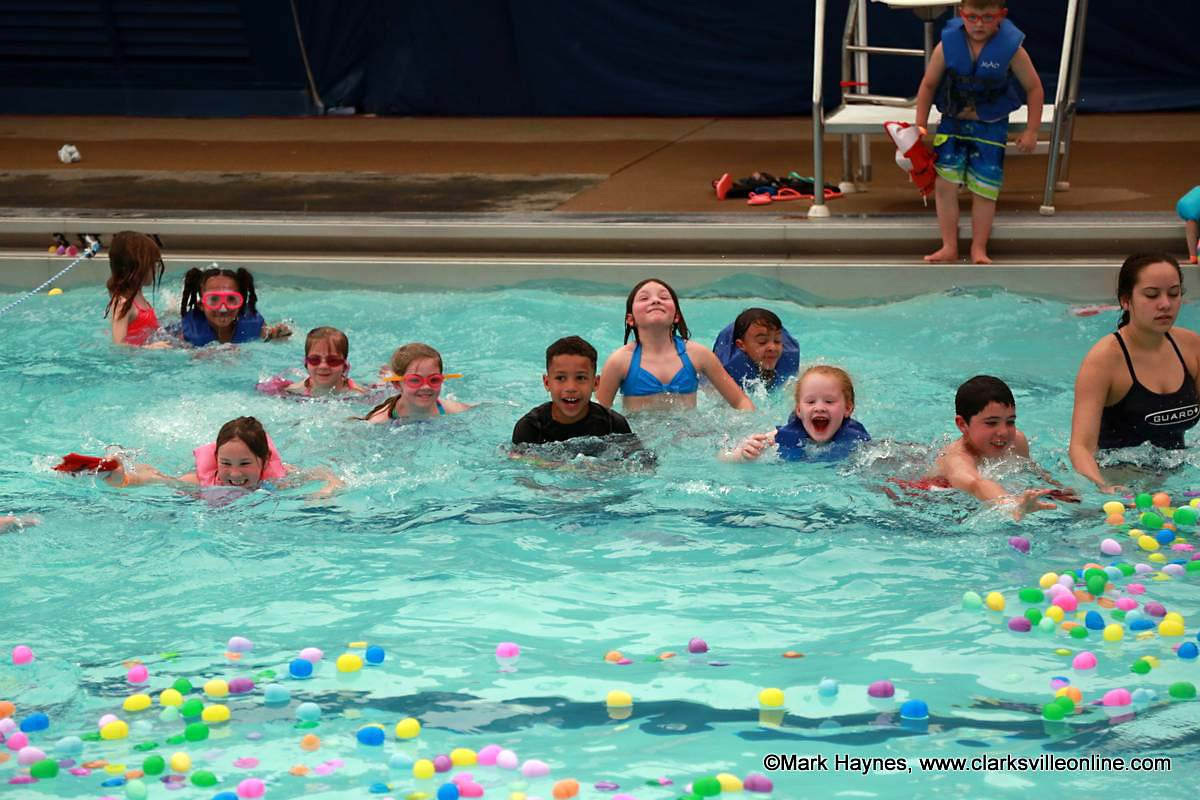 Clarksville Parks And Recreation S Wettest Egg Hunt Hits The Mark Discover Clarksville Tn