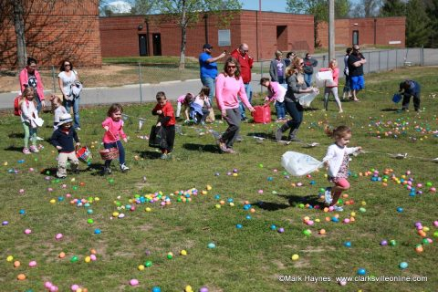 Cunningham Volunteer Fire Department's Annual Easter Egg Hunt.