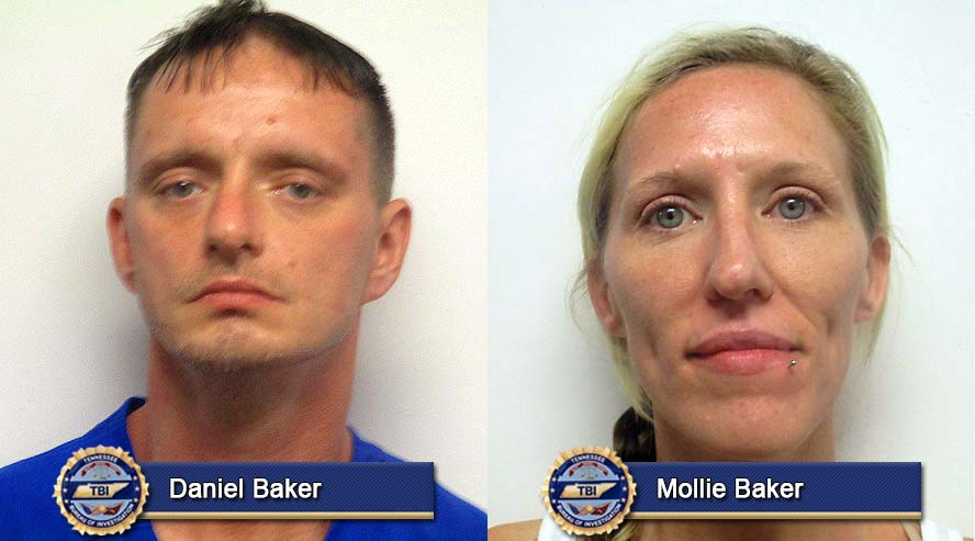 Daniel Baker and Mollie Baker have been arrested for the 2016 murder of Gregory Sanders in Cheatham County.