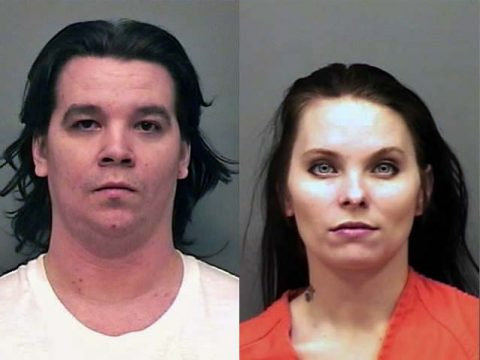 (L) Dustin Michael Myer and (R) Marissa Shay Denton are wanted by the Montgomery County Sheriff's Office for aggravated assault that happened in Woodlawn, TN.