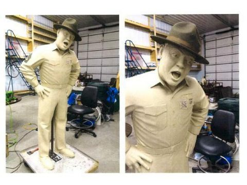 Frank 'Sergeant Carter' Sutton statue to be unveiled near Roxy Regional Theatre in Clarksville