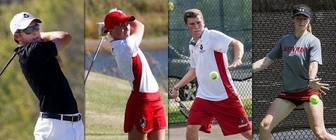 Austin Peay Men and Women's Tennis along with the Men and Women's Golf teams begin postseason this week. (APSU Sports Information)