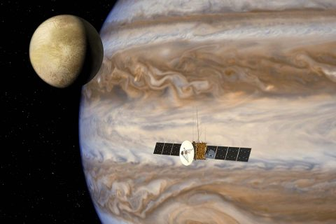ESA JUpiter ICy Moons Explorer (JUICE) mission set to launch in 2022. (NASA)