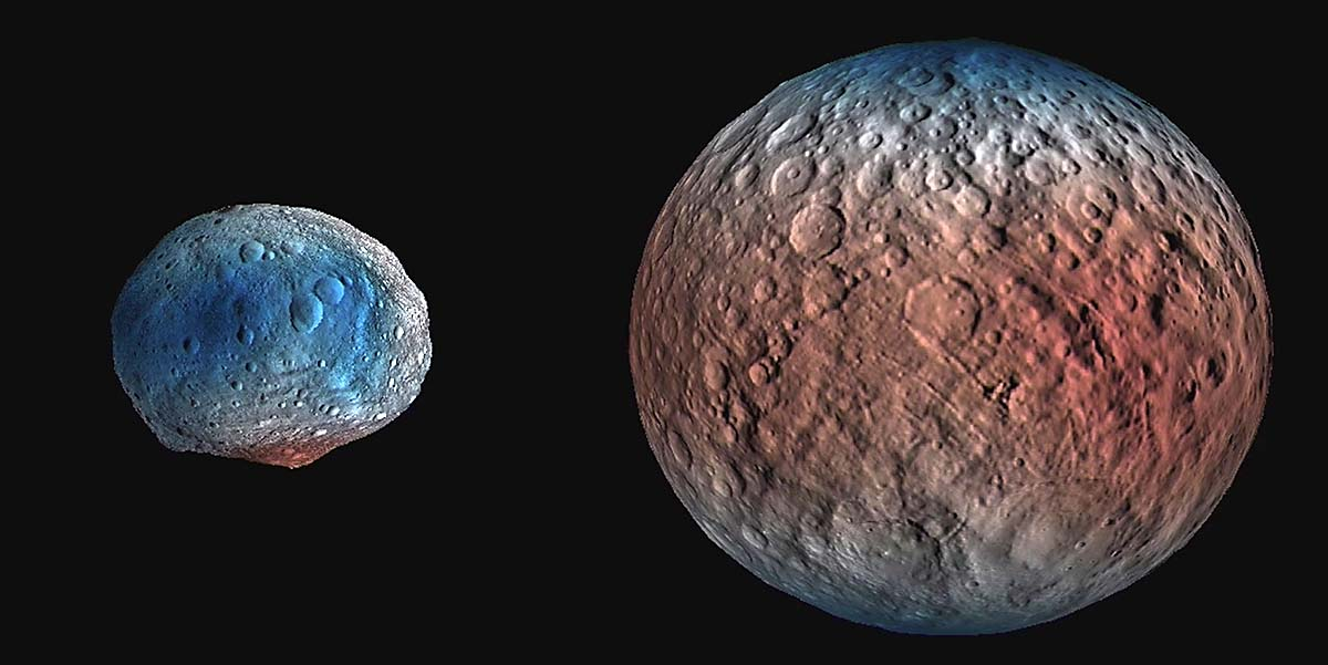 NASA study suggests Dwarf Planet Ceres' Atmosphere linked ...