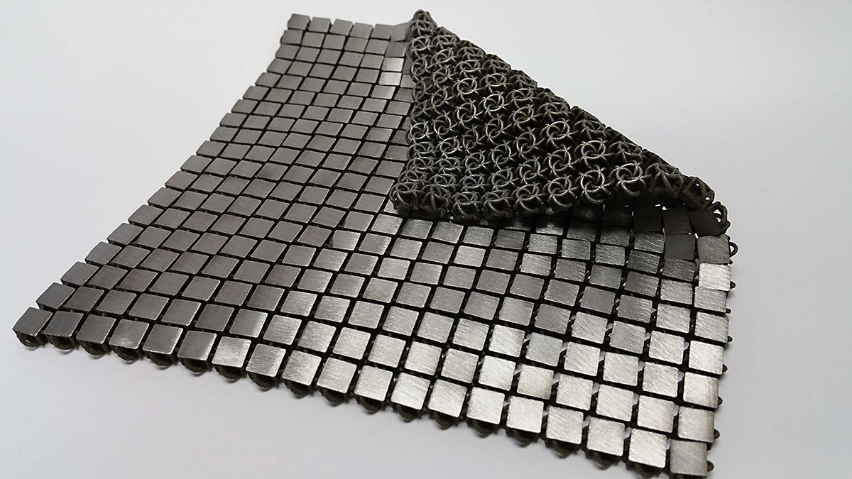 Nasa uses 4 d printing to create metal fabrics for space for Space mission fabric