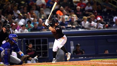 Nashville Sounds take care of Round Rock Express Saturday night, 8-3. (Franklin Barreto, Nashville Sounds)
