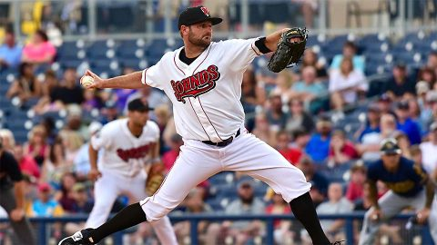 Chris Smith Tosses Six Shutout Frames in Nashville Sounds' Third Straight Win. (Nashville Sounds)