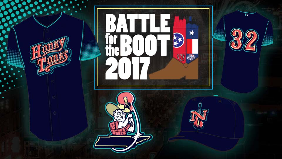 Game One of the #BattleForTheBoot Series Goes to the Dance Halls. (Nashville Sounds)
