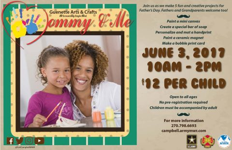 Mommy & Me – Father's Day Crafts to be held June 3rd, 2017 at Guenette Arts & Crafts Center.Mommy & Me – Father's Day Crafts to be held June 3rd, 2017 at Guenette Arts & Crafts Center.
