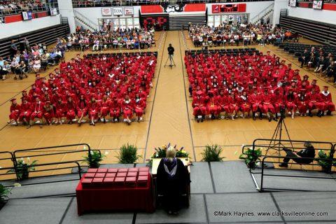 2017 Montgomery Central High School Graduation Ceremony.