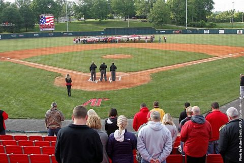 Austin Peay Baseball falls 7-4 to SIU Edwardsville at Raymond C. Hand Park, Friday night. (APSU Sports Information)